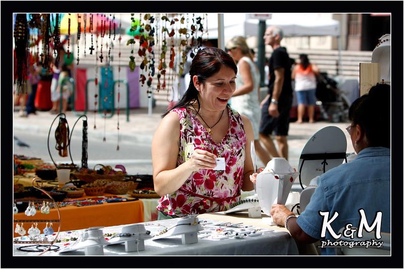 Monique Shopping at Fair