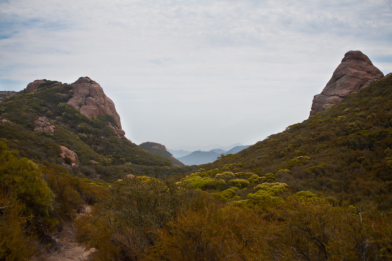 The Backbone Trail - Santa Monica Mountains