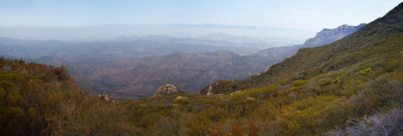 Panoramic View from the Backbone Trail