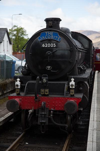 Harry Potter's steam train!