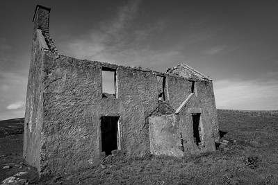 The whitehouse, Vatersay, Outer Hebrides