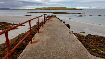 Quay - low tide, Barra, Outer Hebrides