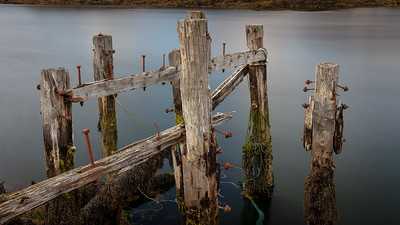 Abandoned quay, Lochskipport, South Uist, Outer Hebrides