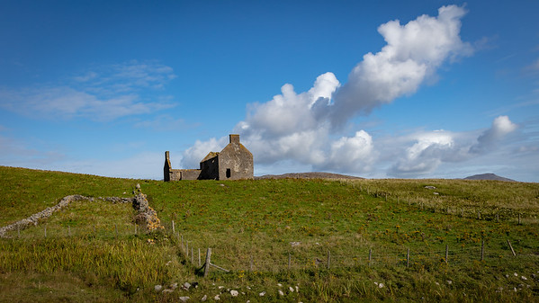 Abandoned whitehouse croft, Vatersay, Outer Hebrides