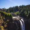 Snoqualmie Falls with Lodge