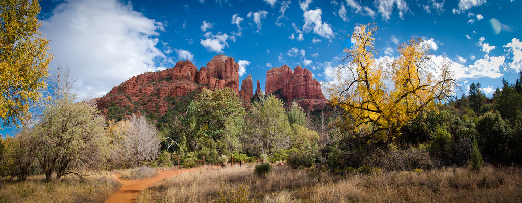 Cathedral Rock, Red Rock Springs, Sedona, AZ