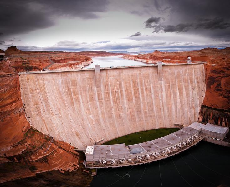 Glen Canyon Dam, Lake Powell, Page, AZ