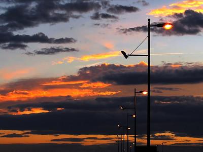 Street Lights On The Sunshine Coast