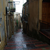 there are a lot of steps to go up and down in Sicilian towns, and sometimes a street just turns a corner and becomes steps.  We wondered how car drivers knew!