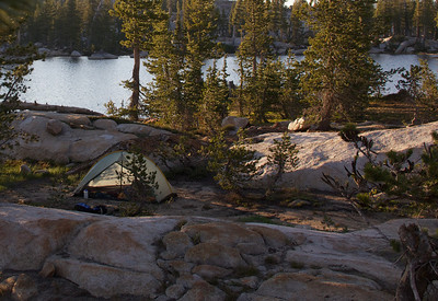 Camp at Wire Lake