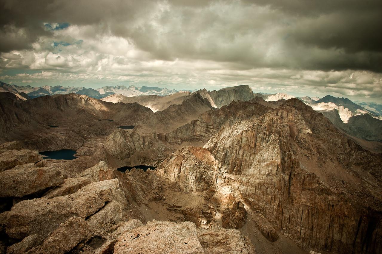Sierra Vista Atop Mount Langley