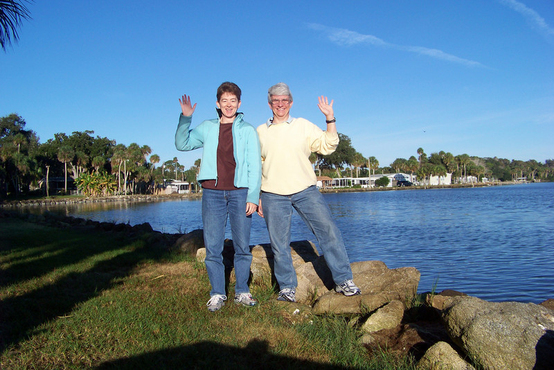 Day 7 - we awake only to say goodbye to Florida, glad to have a sunny day for our long drive!