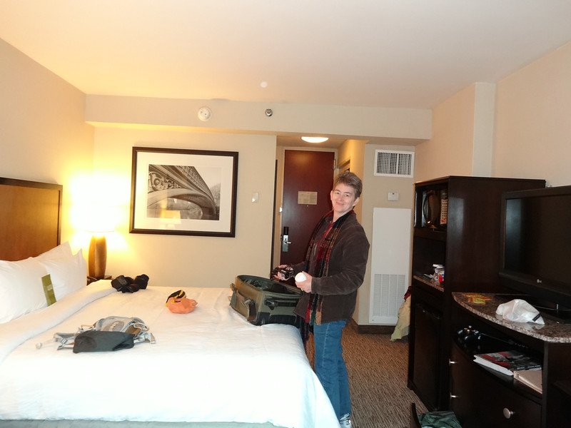 New York City - We arrive from the airport, check into our hotel and get ready to head to the Marathon expo.  November 2nd, 2012