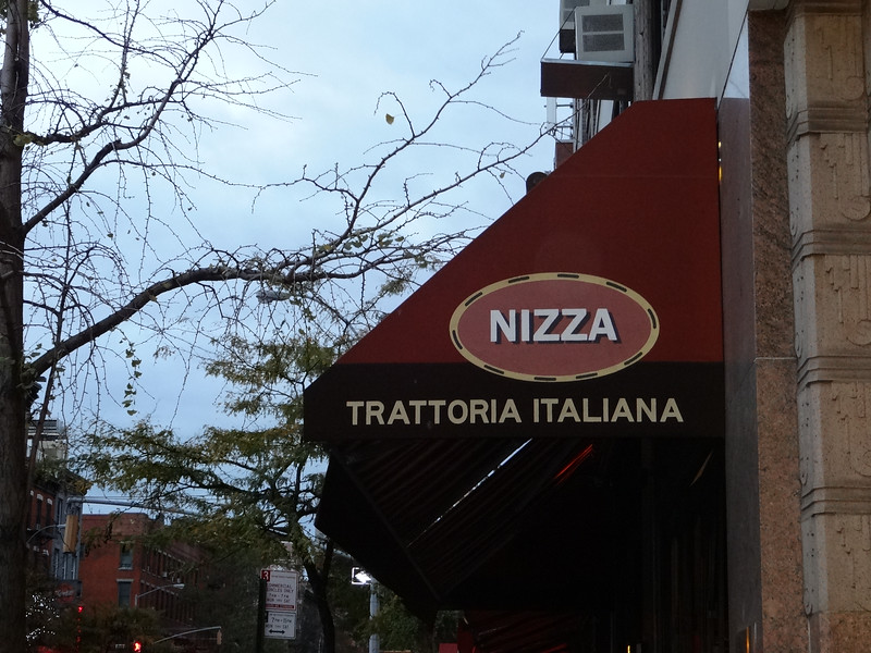 Another great italian meal at Nizza -- this was supposed to be Patti's pre-marathon dinner.  We enjoyed the meal a bunch.