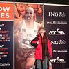 Photo at the NYC Marathon expo.