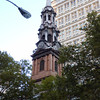 Trinity Church in Manhattan - this was the epicenter of the 9/11 relief effort.