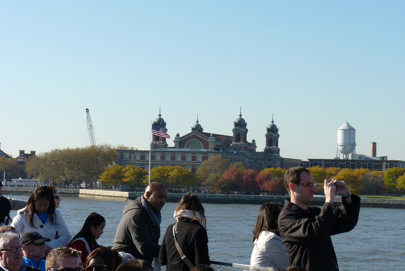 For such an American institution, Ellis Island looks a little Byzantine.