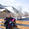 The end of another successful ski day -- all appendages still configured correctly.  March, 2004