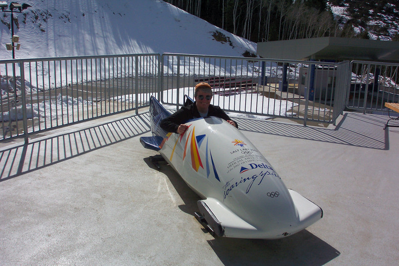 Jeane's always wanted to be a bobsled driver.