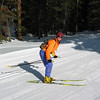 Lynn skate skiing (action pose for racing :-))