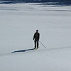 Lynn skate skiing in Senate Meadows