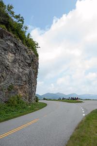 Parking Under Cliff