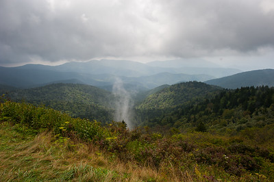 Smokies Steam After Rain