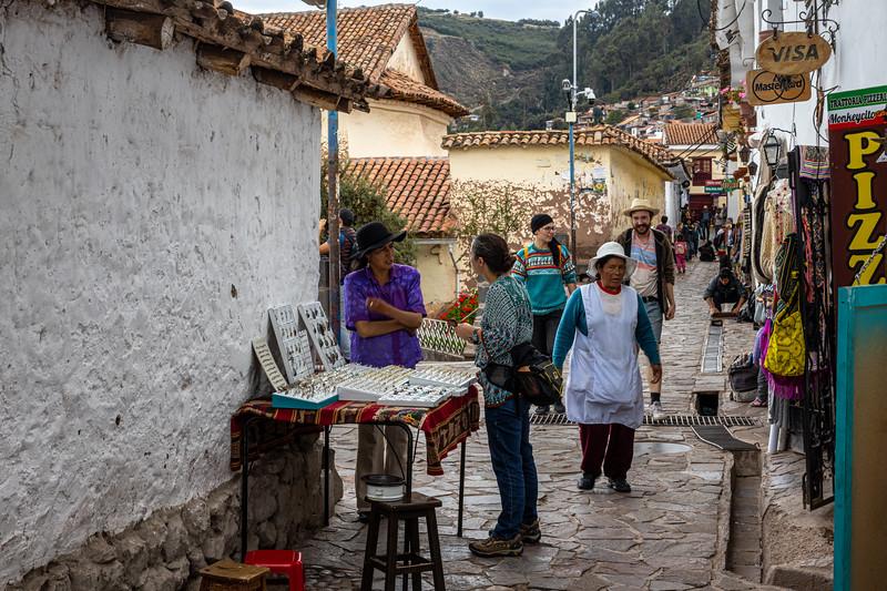 Susan buying Jewelry - San Blas