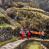 Karen's ride to Macchu Picchu