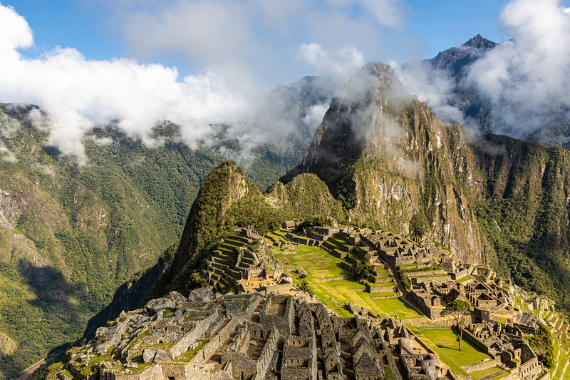 "The ""Poster Shot"" of Macchu Picchu"