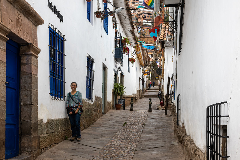 Susan in San Blas
