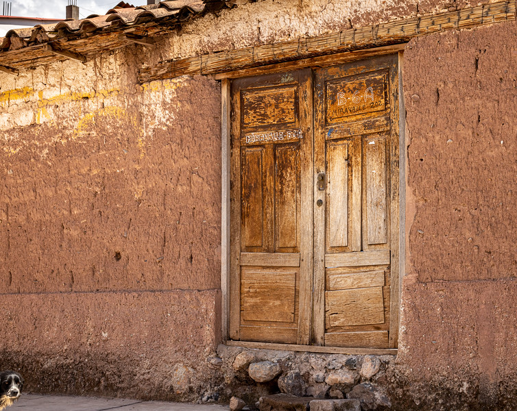 Adobe Walls and Old Doors