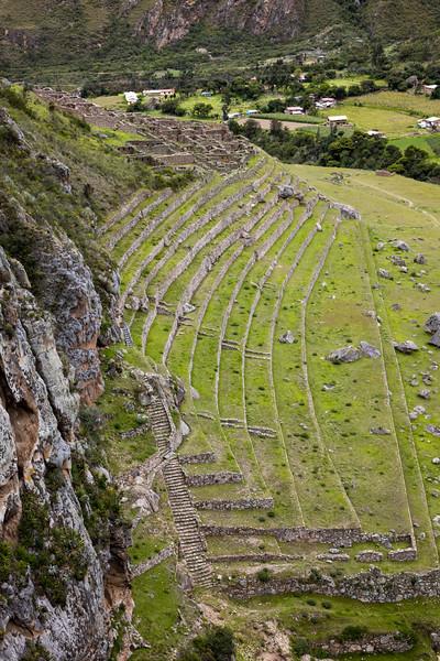 Patallacta Ruins and Urubamba River Valley
