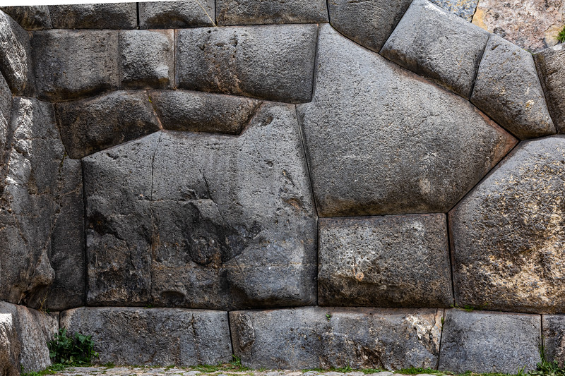 Kuy in Stone - Sacsayhuamán