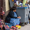 Vendor near Plaza de Armas