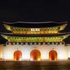 Night Gwanghwamun Gate