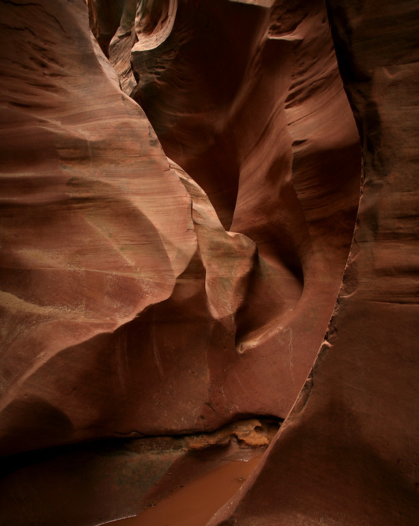 In Little Wild Horse Slot Canyon