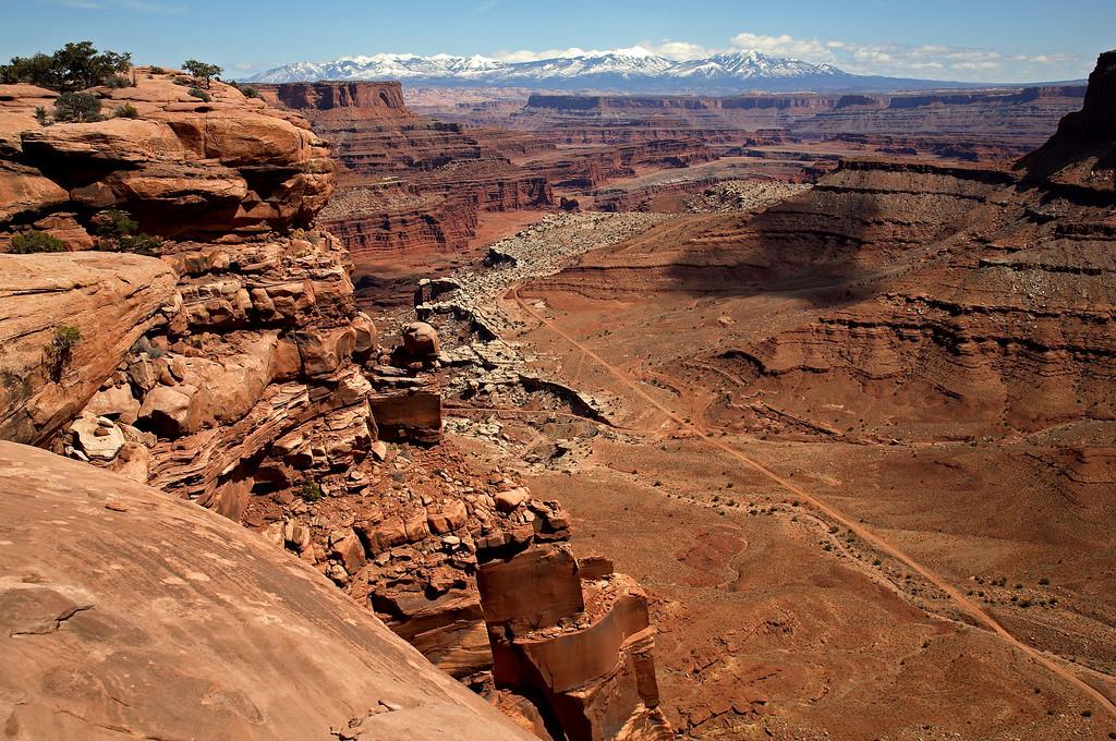Overlook in Canyonlands National Park