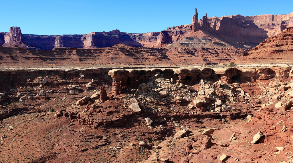 Canyonlands - Along the White Rim trail