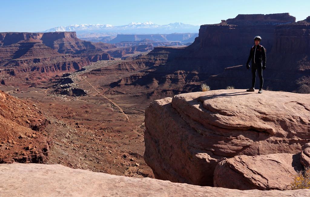 Biking in Canyonlands