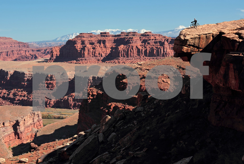 Canyon overlook in Canyonlands National Park