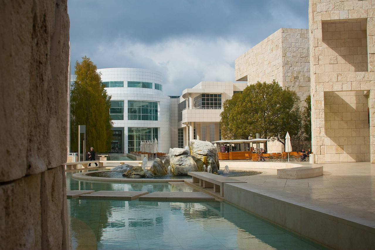 Getty Museum - Santa Monica