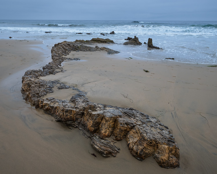 Lurking Rock Formation, Crystal Cove State Park