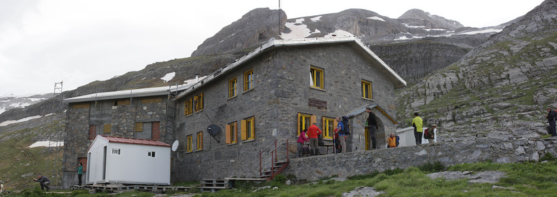 Rifugio de Goriz, 2200m