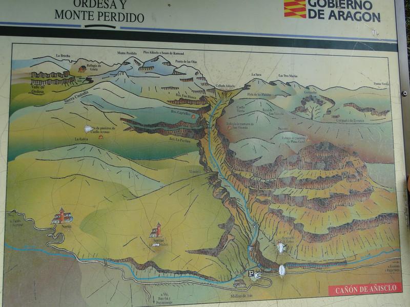 Route P to Refugio de Góriz