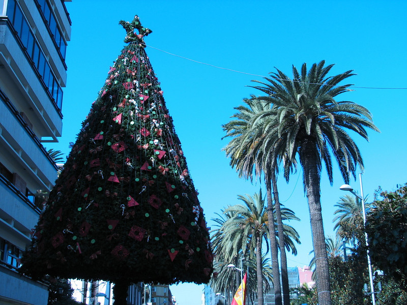 Christmas tree (Centre Las Palmas)