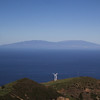 View at island La Palma, from Epina, La Gomera