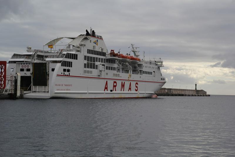 Ferry La Gomera-La Palma v.v.