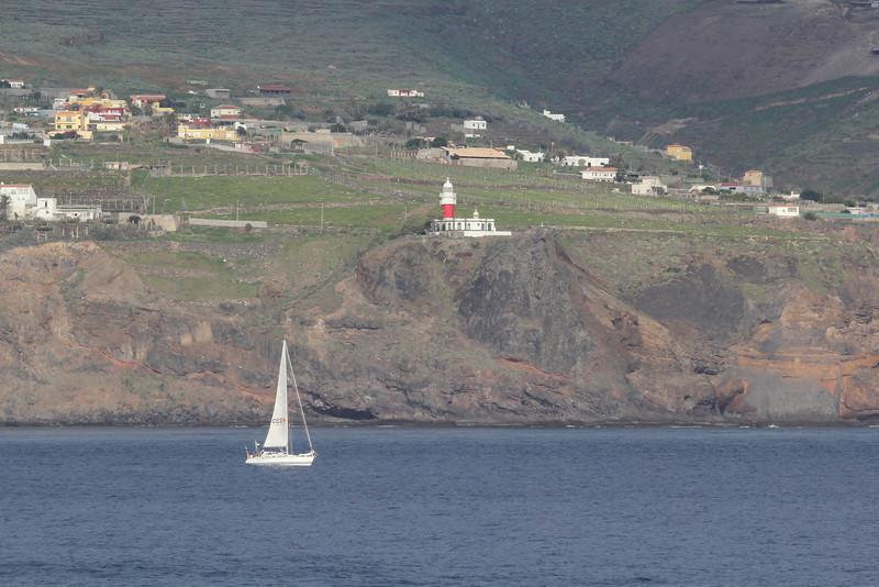 Faro de San Cristóbal near San Sebastian