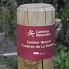 sign, Bosque de Tejos, Parque Nacional Garajonay